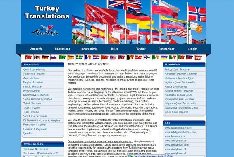 Alanya Web Tasarım - Turkey Translations